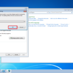 Japanese Locale on Windows7 7