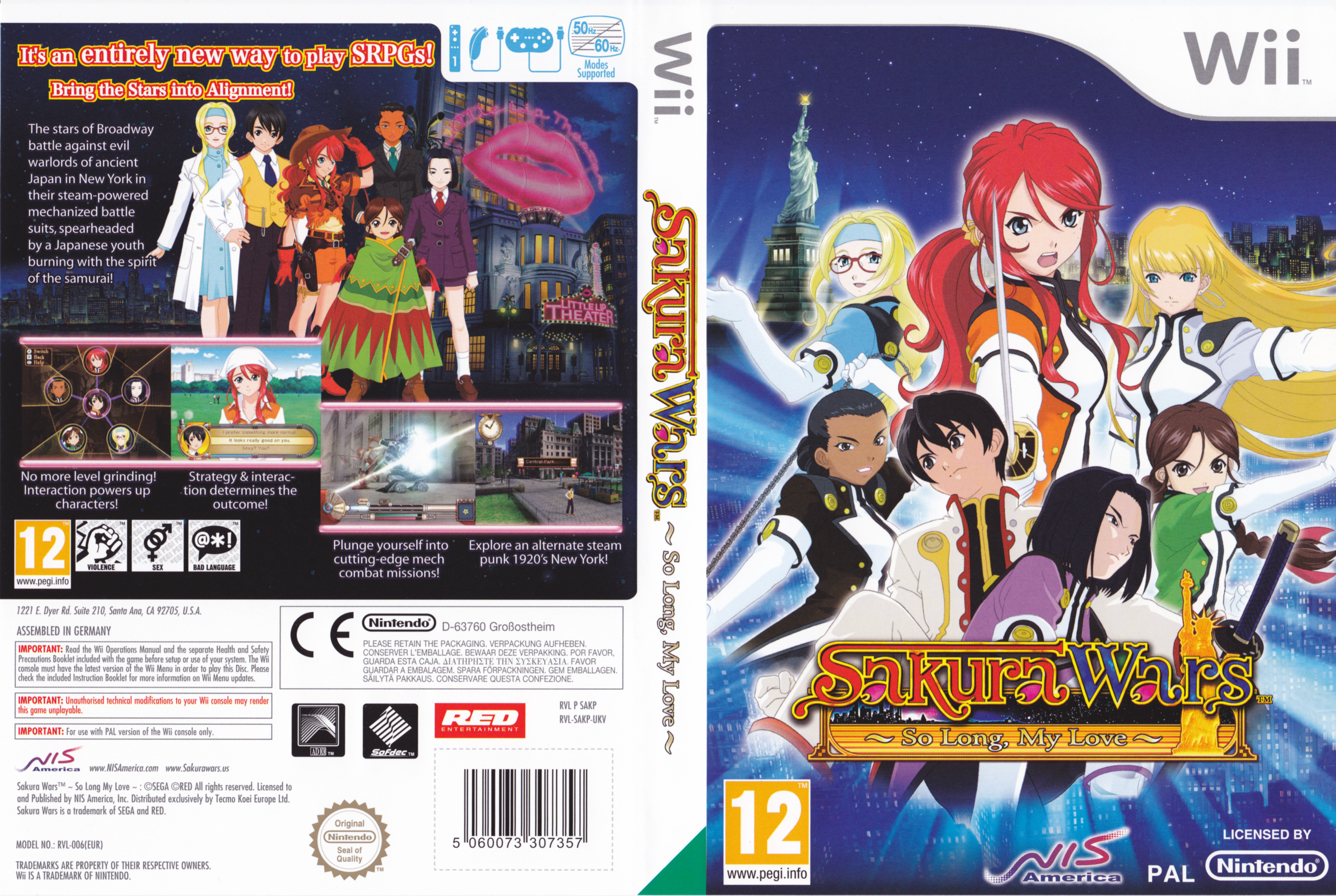 Sakura Wars 5 Wii pal